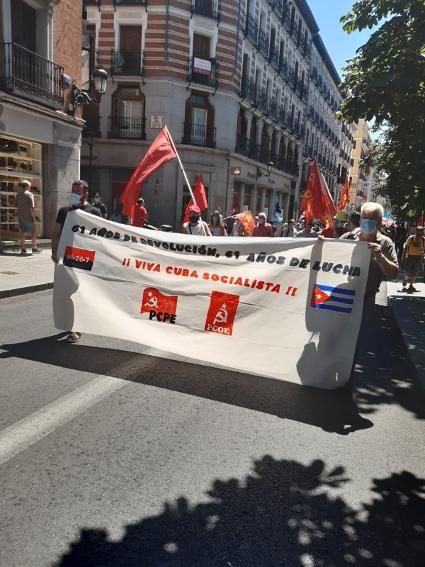[Madrid] ¡Siempre 26! Con Cuba y su Revolución