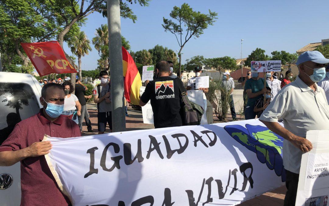 [Murcia] La socialdemocracia del lado de los terratenientes y explotadores frente a las y los trabajadores migrantes de la Región de Murcia