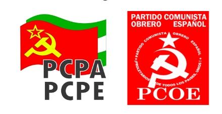 [Andalucía] Comunicado de PCPA-PCPE y PCOE en solidaridad con los trabajadores inmigrantes