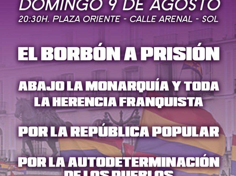 [Madrid] Convocatoria de manifestación rechazando la monarquía y exigiendo la República