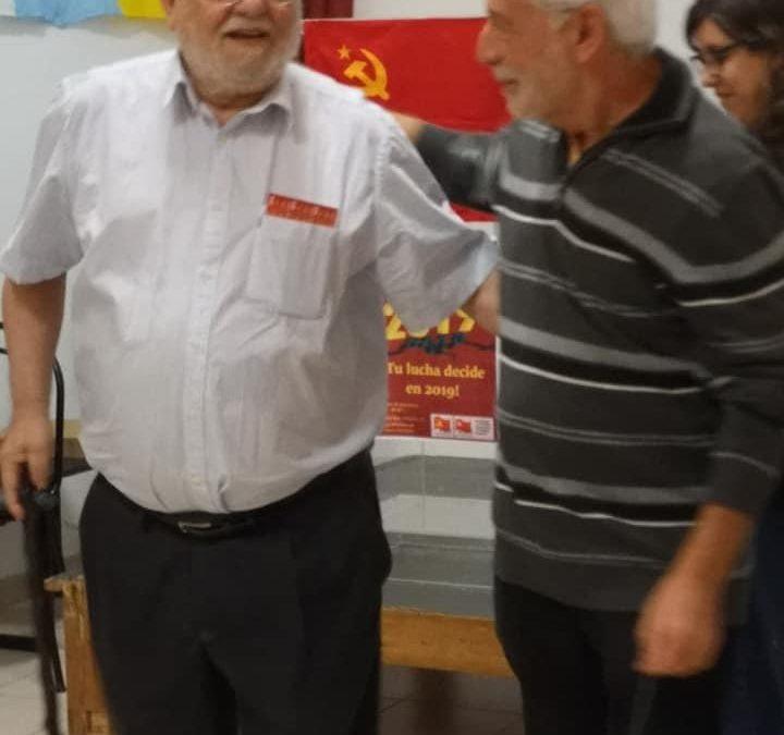Camarada Miguel Trujillo, ! Presente ¡