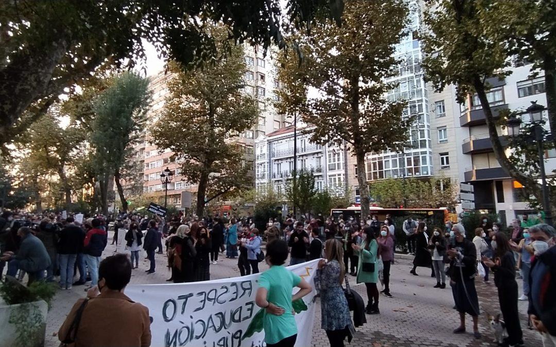 El PCPE y la JPCE apoyan las movilizaciones contra la suspensión de las vacaciones escolares de noviembre