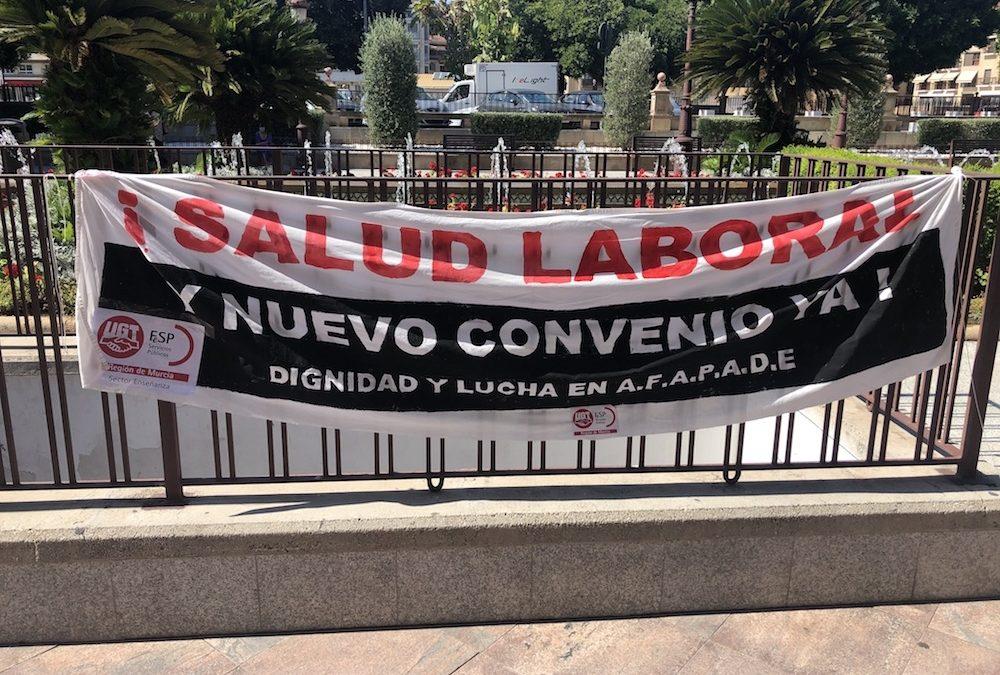 [Murcia] No más violencia sobre trabajadores de AFAPADE