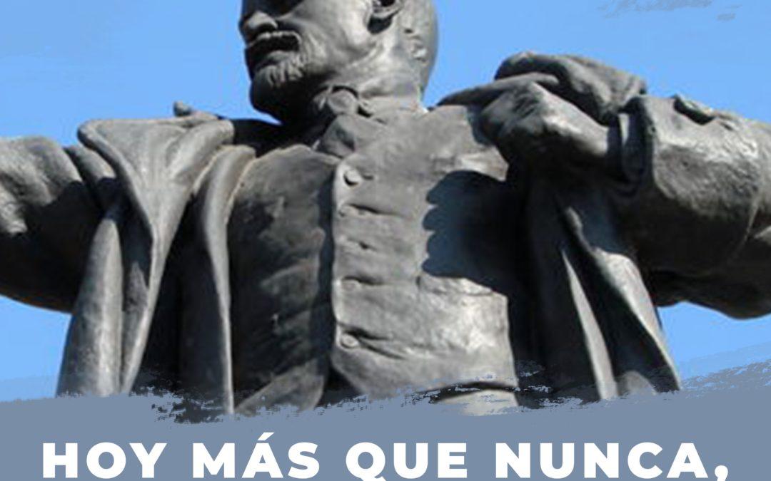 En el 103 aniversario de la Revolución de Octubre. Socialismo es humanidad