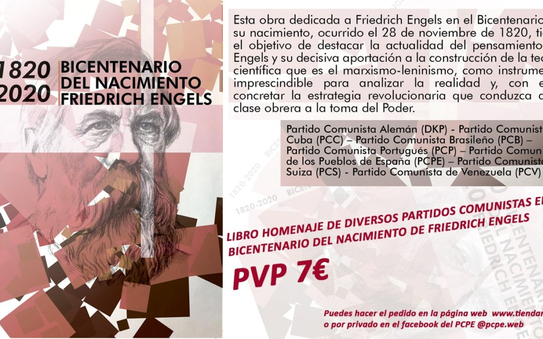 El libro conmemorativo del bicentenario del nacimiento de Federico Engels ya es una realidad