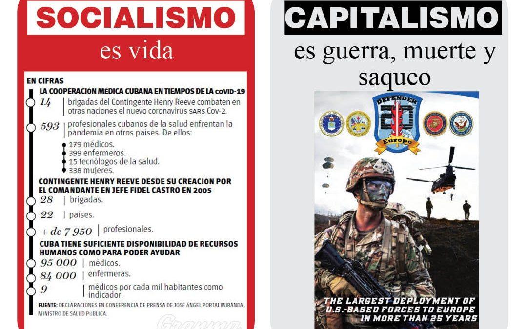 Señores imperialistas, ¡ustedes son los terroristas!