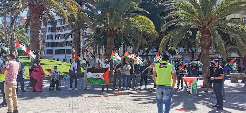 [Canarias] Concentraciones en apoyo a la lucha del pueblo saharaui