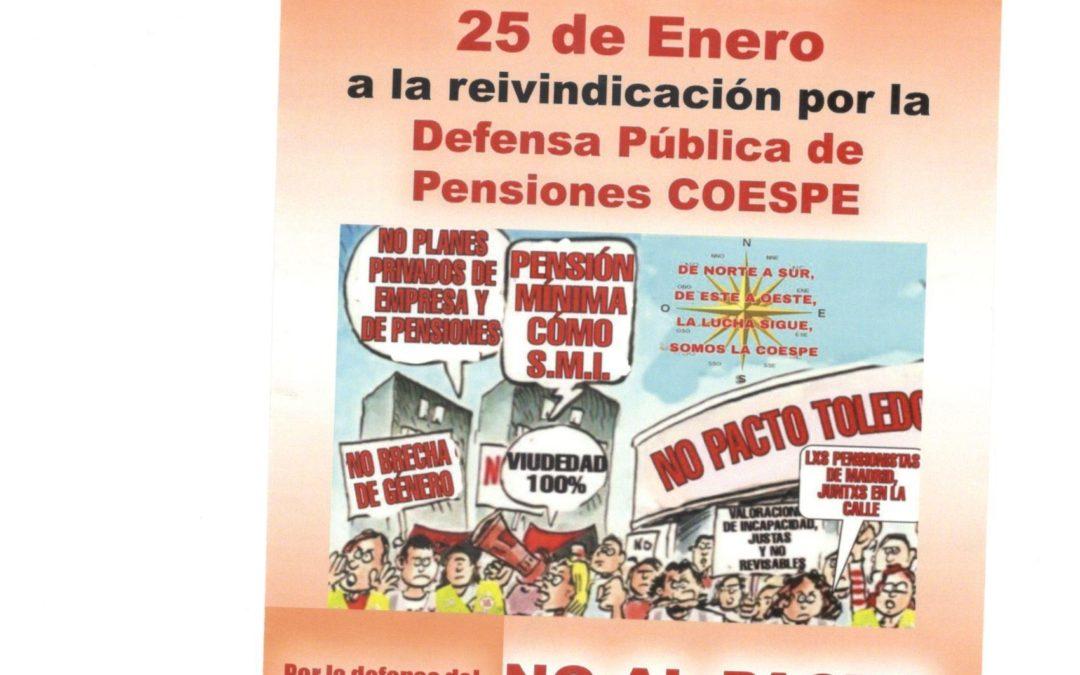 [Baza] Baza por las pensiones públicas y contra el encarcelamiento de Pablo Hasél