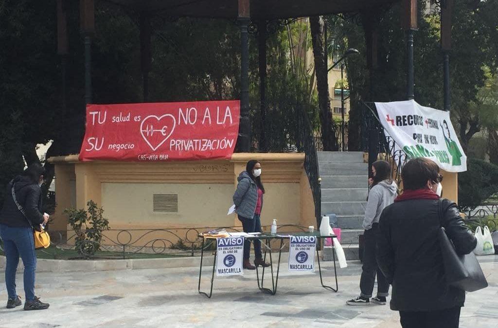 [Orihuela] Concentración 27-F por la Sanidad Pública