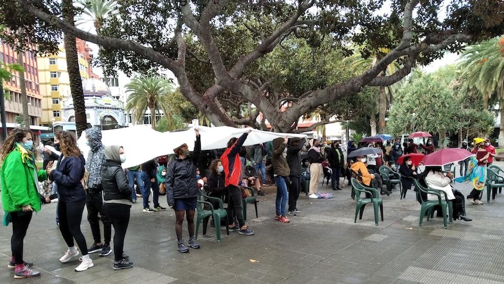 [Canarias] Movilizaciones en Solidaridad con las personas Migrantes