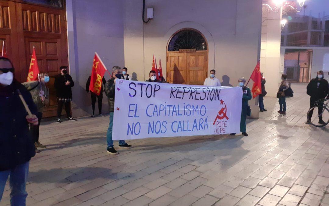 [Alicante] Concentración en solidaridad con Pablo Hasél y por la libertad de expresión