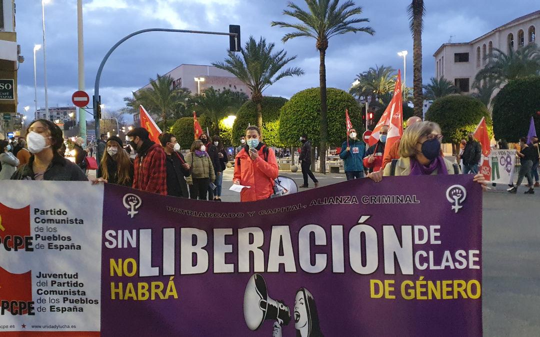 [Alacant] Crónica manifestación del 8 de marzo