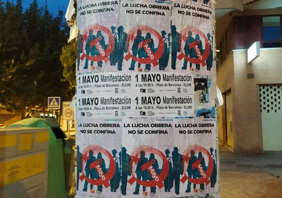 [Vega Baja] Crónica Agitación 1º de Mayo