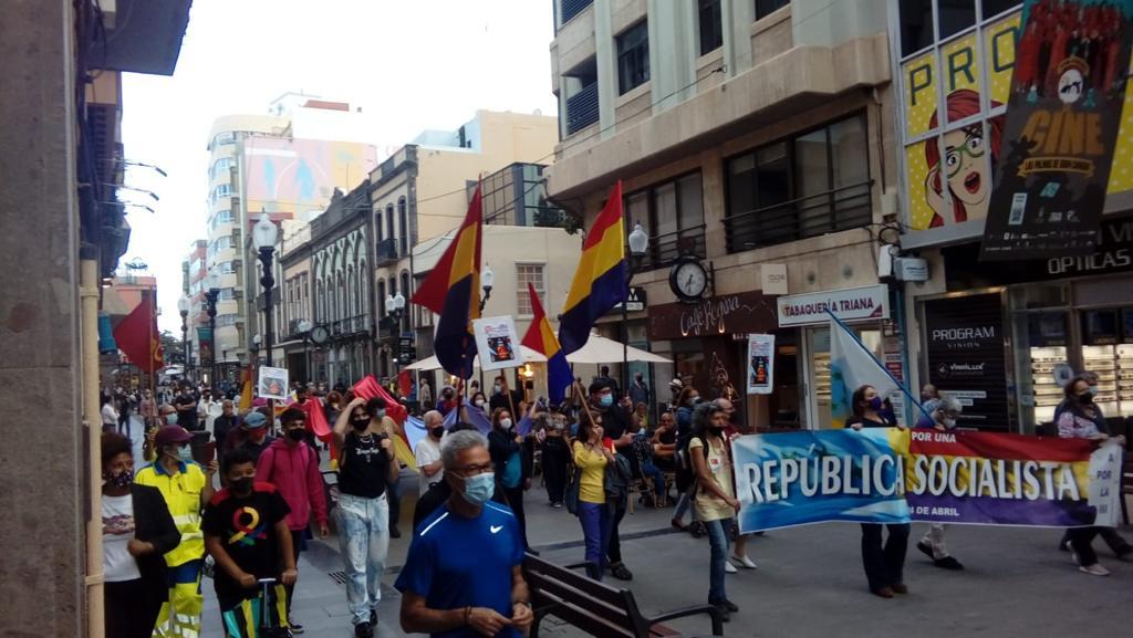 [Gran Canaria] Crónica de las 2 movilizaciones del 14 de abril