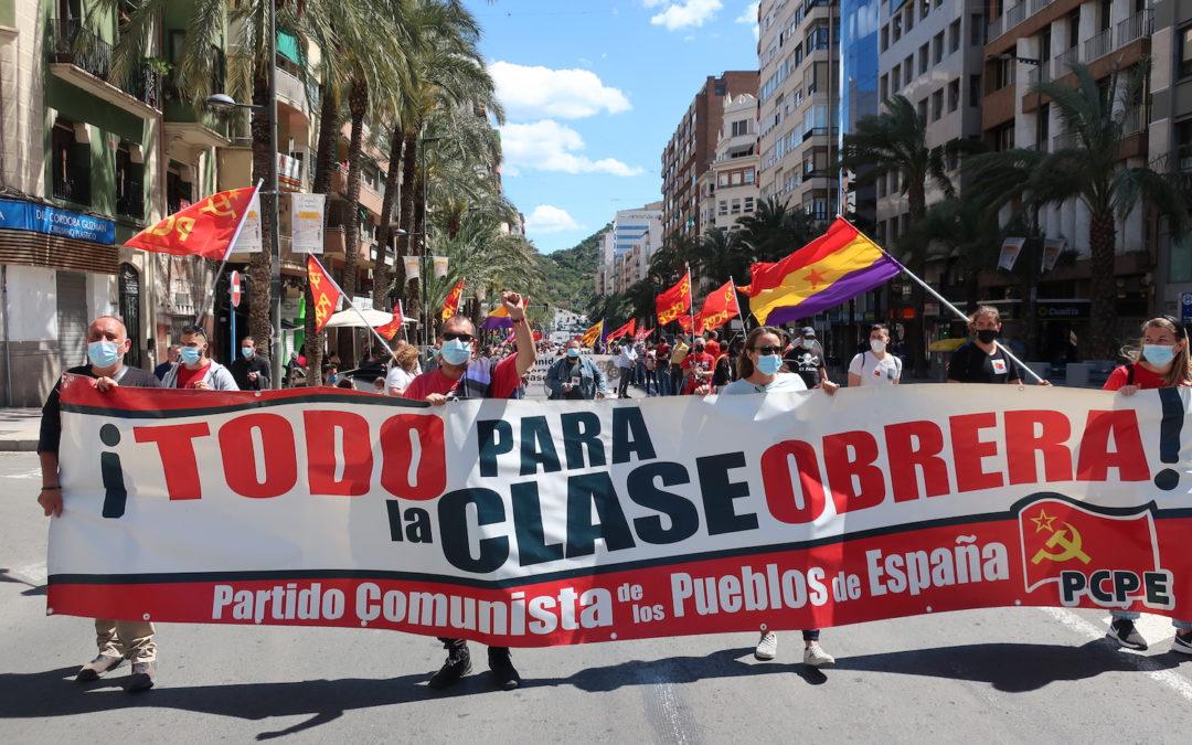 [Alacant] La lucha obrera si no se ejerce no existe: 1 de mayo en Alacant de Unidad y Lucha