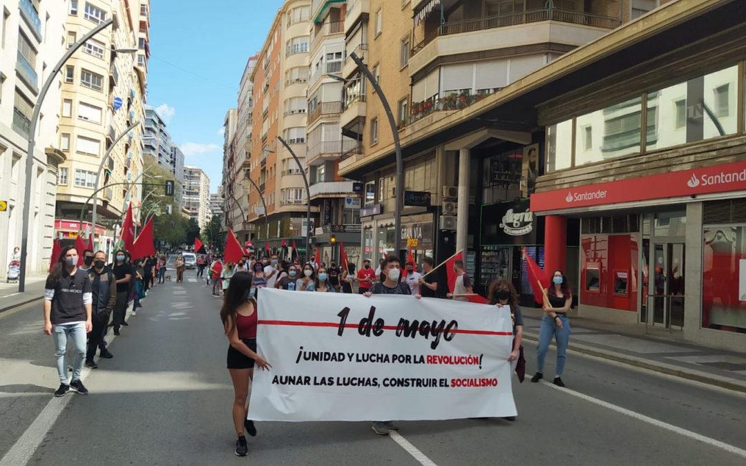 [Murcia] 1 de mayo unitario y de clase