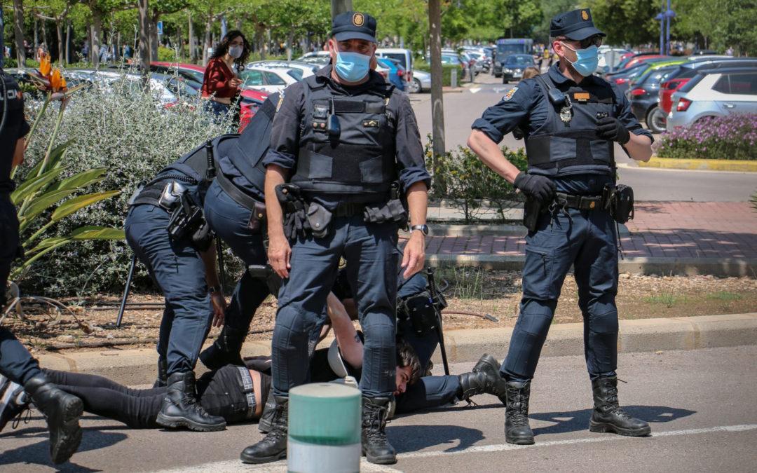 [País Valencià] Declaración ante la brutal represión en la Universidad Jaume I de Castelló