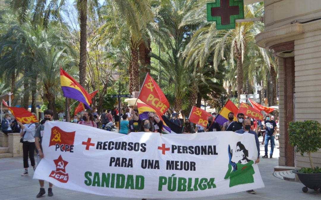 [Baix Vinalopó- Vega Baja] Manifestación 1 Mayo en Elx