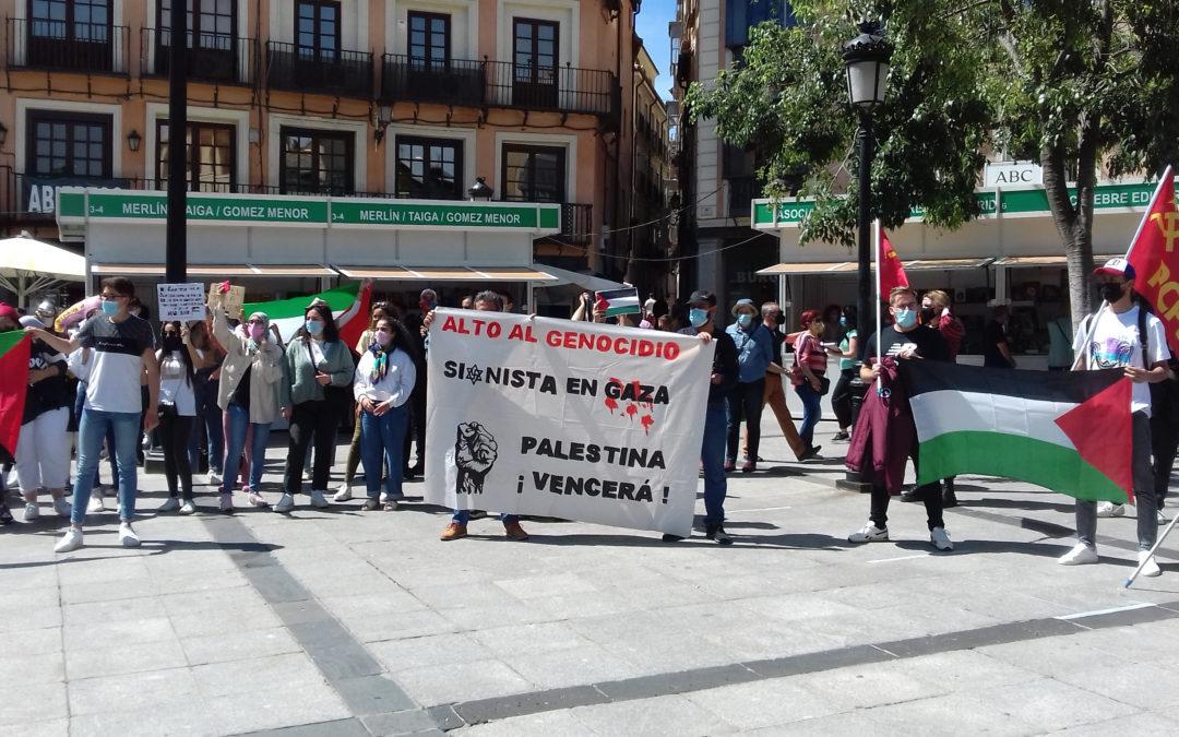 [Toledo] Crónica de la concentración en solidaridad con el pueblo palestino