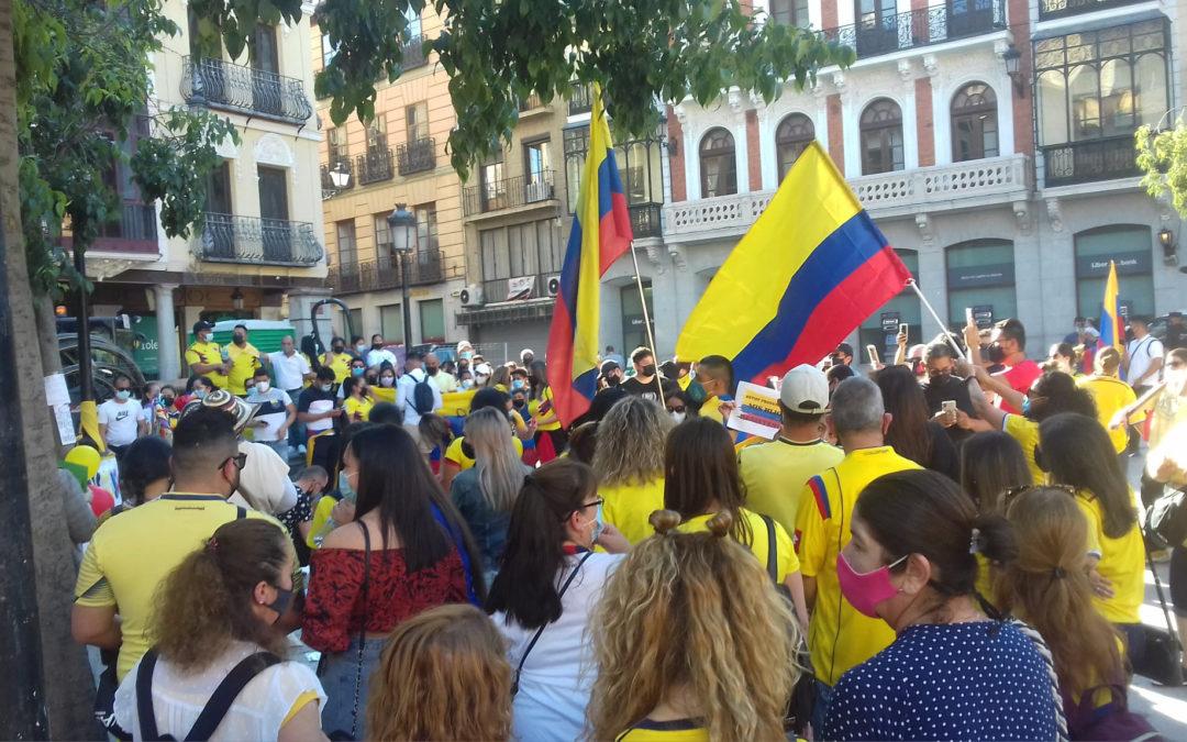 [Toledo] Participación en la concentración contra la represión en Colombia