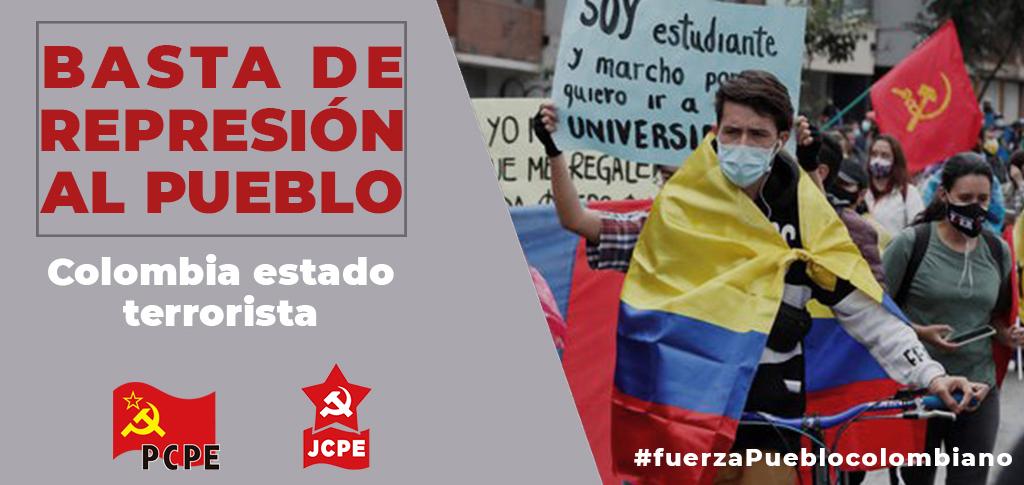 Colombia, que cese la represión, que viva el Paro Nacional