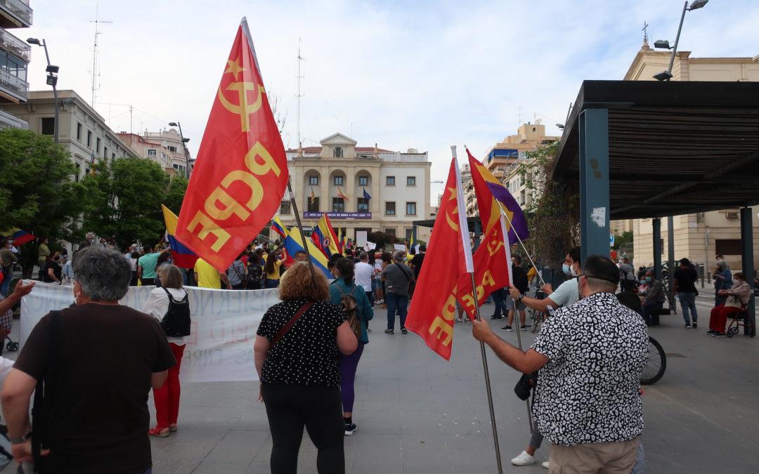 [Alacant] Concentración 8M en defensa del pueblo Colombiano