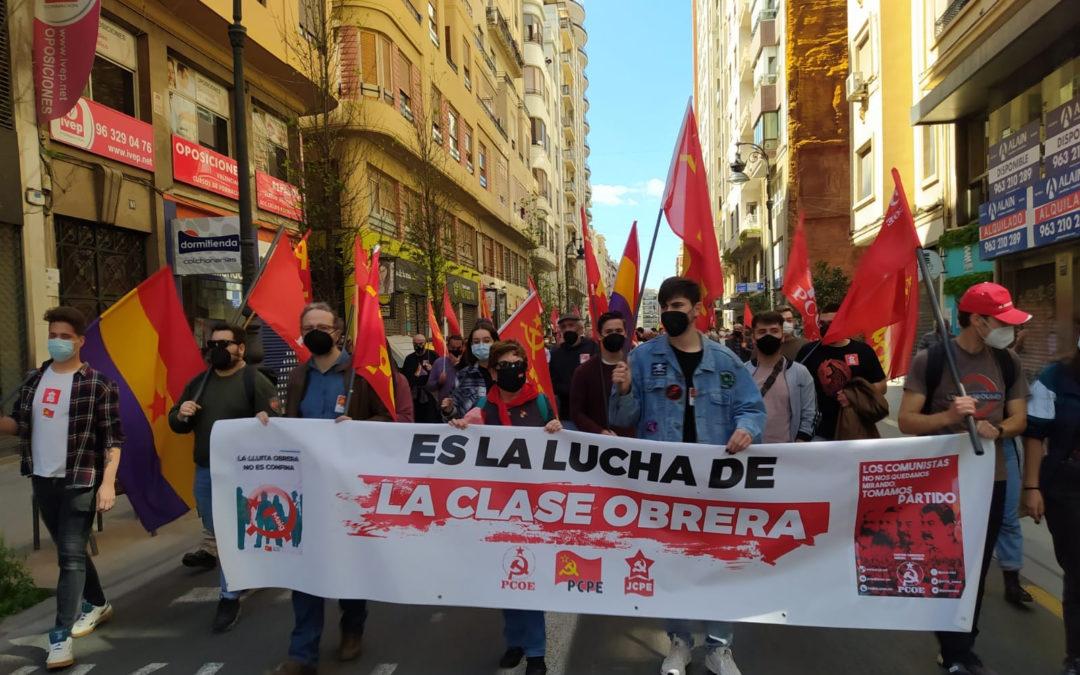 [València] 1 de mayo en Valencia.