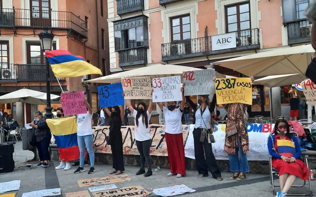 [Toledo] Concentración en apoyo colombiano