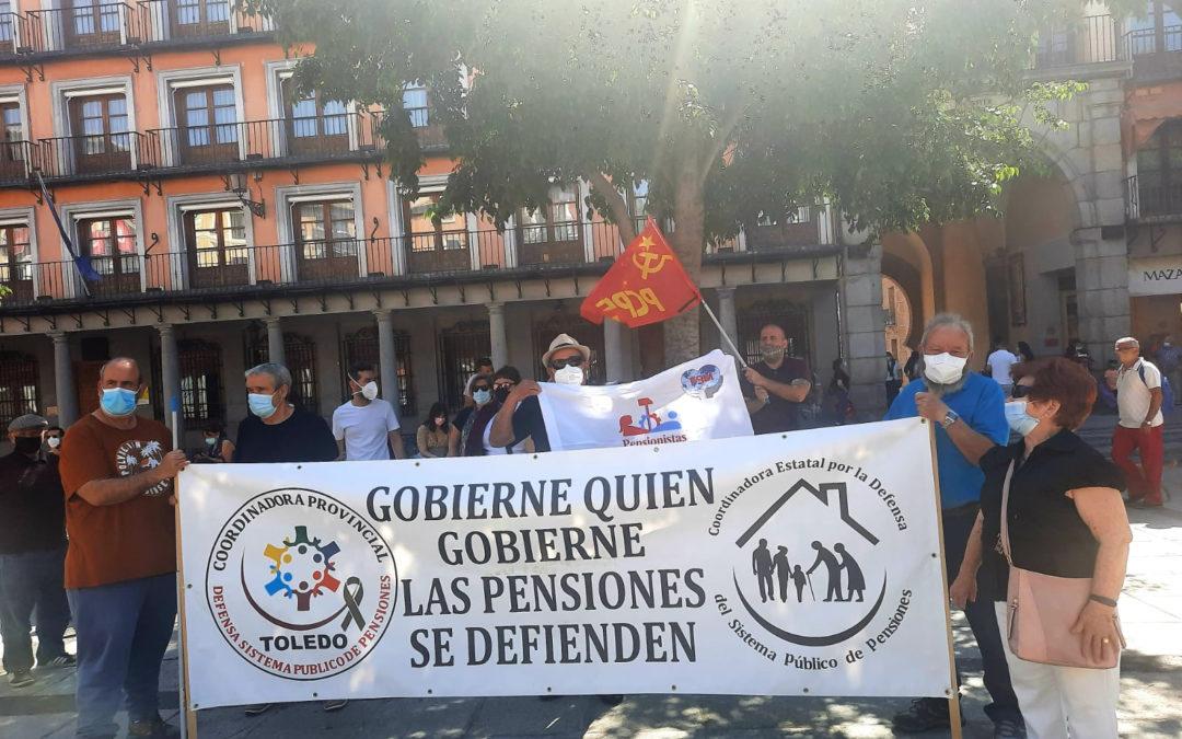 [Toledo] Concentración del sábado en defensa del sistema publica de las pensiones