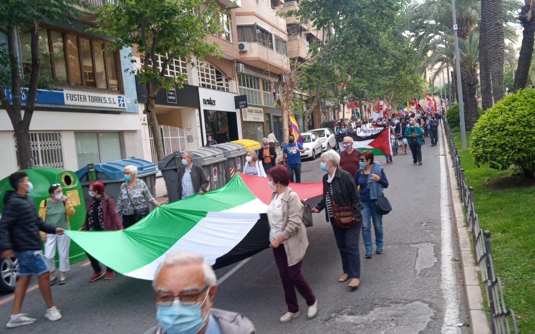 [Alacant] Manifestación por Palestina