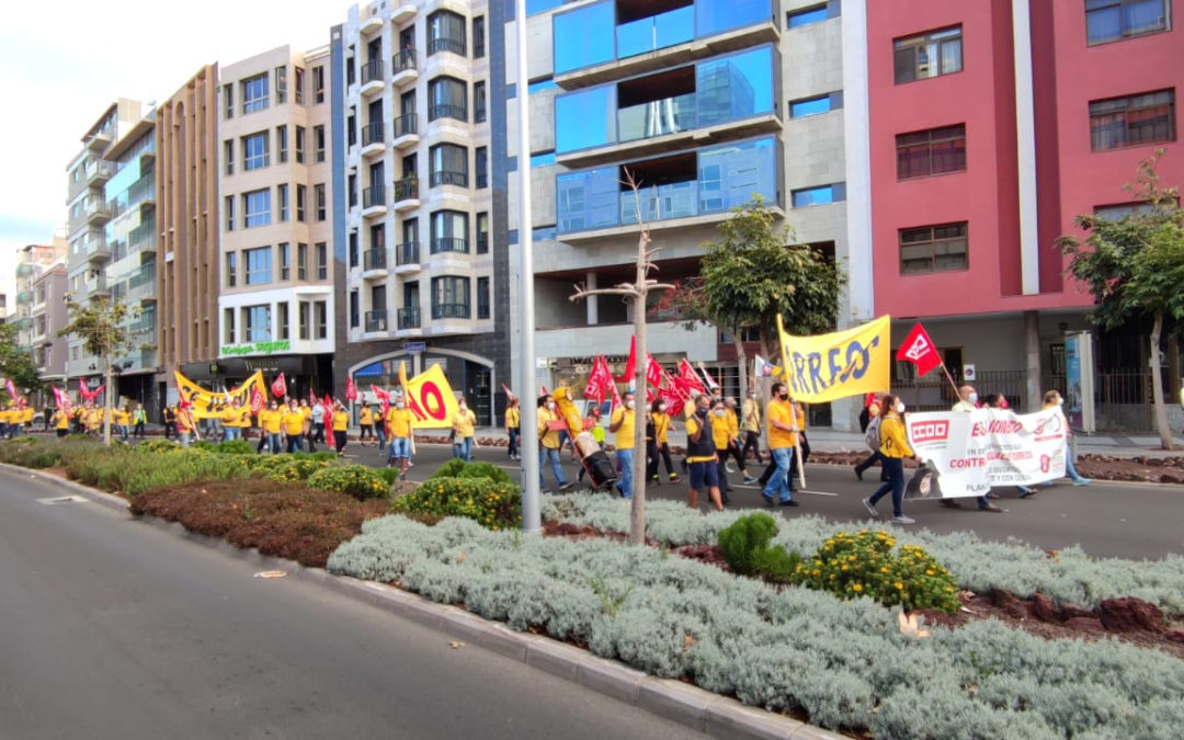 [Canarias] 1J -Jornada lucha unitaria en Gran Canaria, Fuerteventura y Lanzarote
