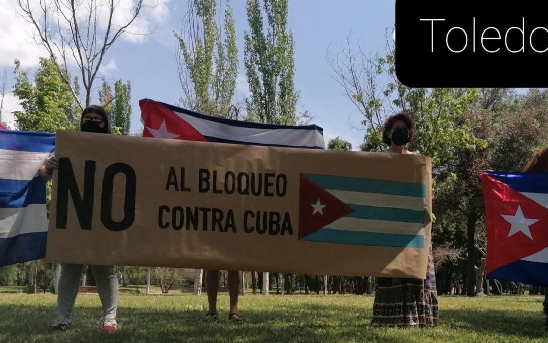 [Toledo] se suma contra el bloqueo criminal que sufre Cuba Socialista