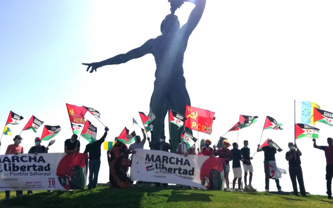[Canarias] Crónica 12J- Marcha sur saharaui