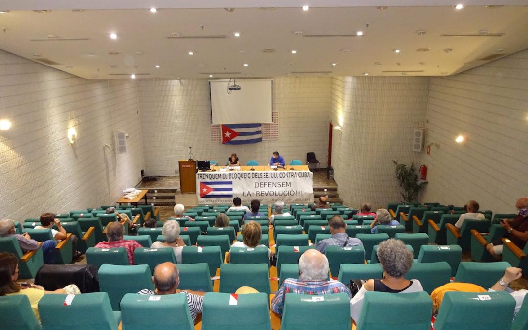 [Alacant] Acto para denunciar el criminal bloqueo a Cuba