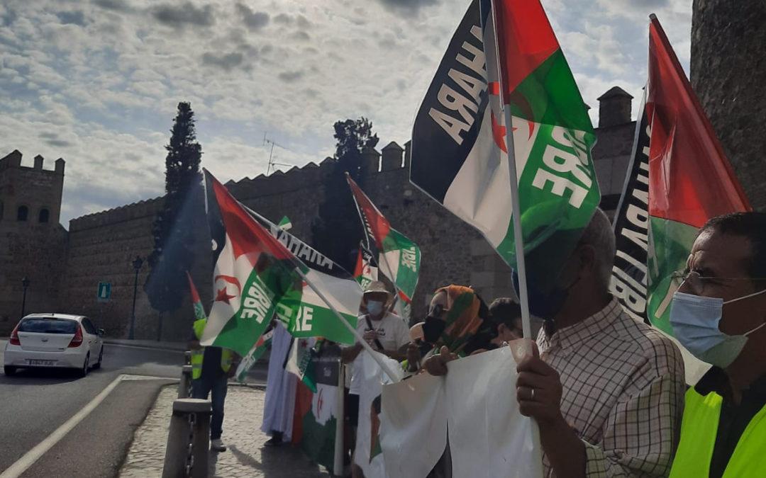 [Toledo] Participación de la marcha por la libertad del pueblo Saharaui