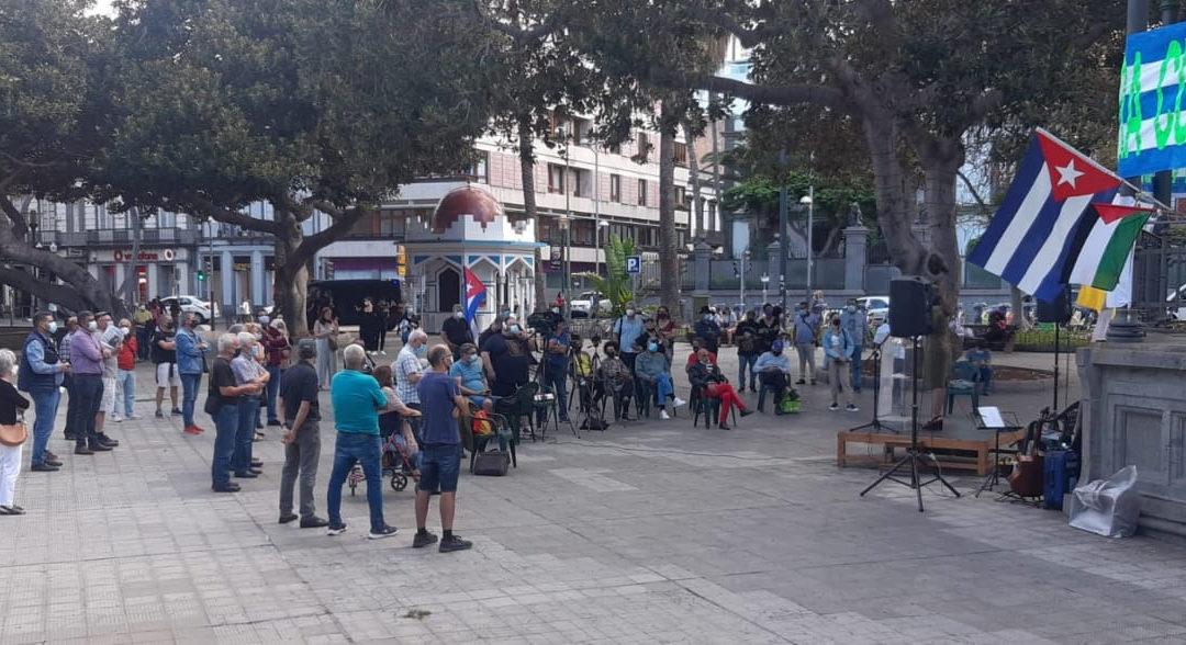 [Canarias] Acto contra el bloqueo a Cuba