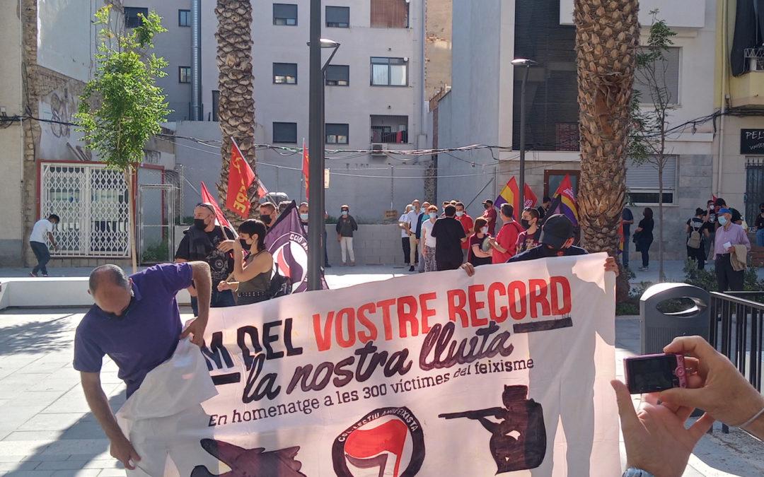[Alacant] Manifestación por la memoria histórica y contra el fascismo