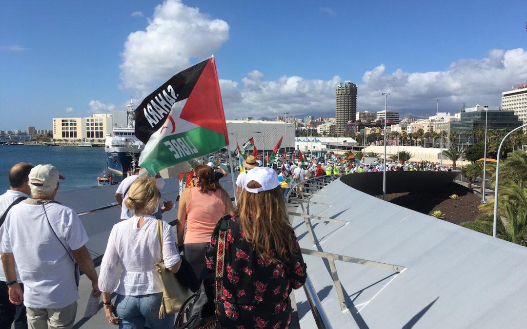 [Canarias] Marcha por la libertad del Pueblo Saharaui en Las Palmas de Gran Canaria
