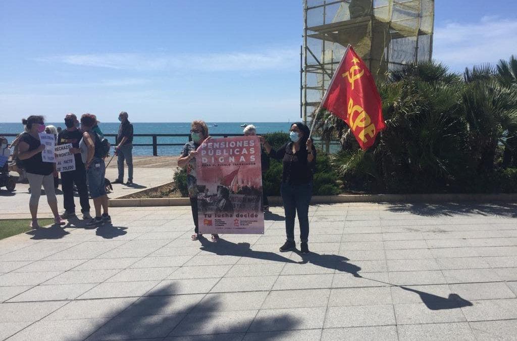 [Torrevieja] Concentración Torrevieja 29 Mayo en defensa de las pensiones