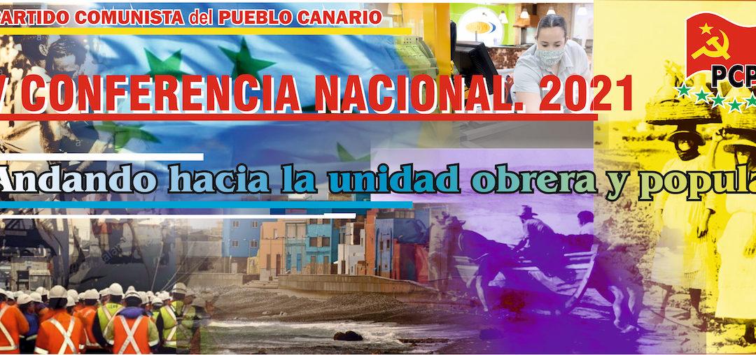 [Canarias] V conferencia del PCPC (1º Información)