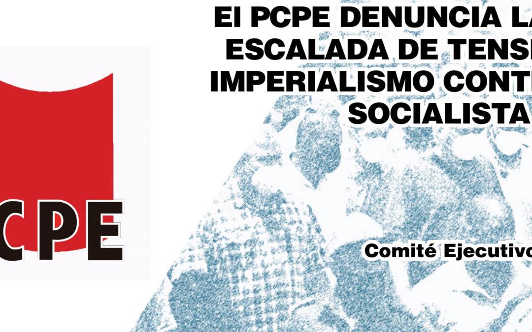 El Partido Comunista de los Pueblos de España (PCPE) denuncia la nueva escalada de tensión del imperialismo contra Cuba socialista