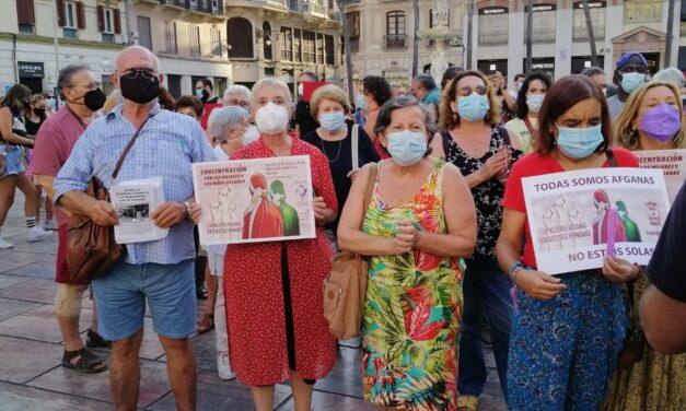 [Málaga] ABAJO LA OPRESIÓN PATRIARCAL Y EL IMPERIALISMO.