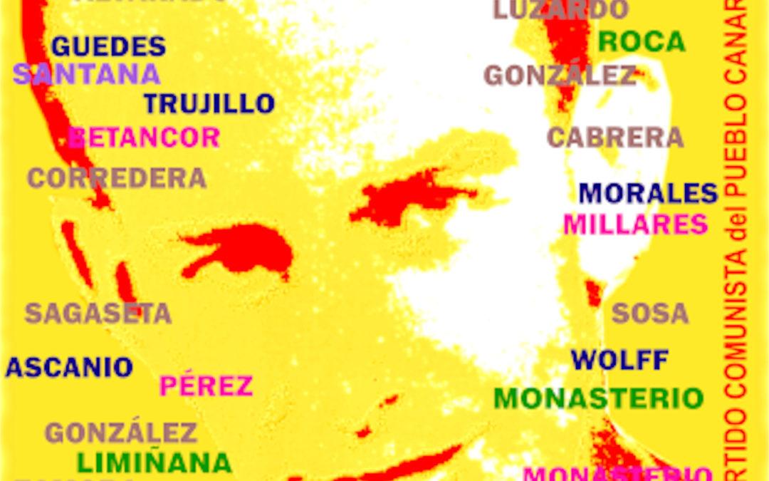 [Canarias] 6 de agosto. Homenaje a los héroes y heroínas de la clase obrera