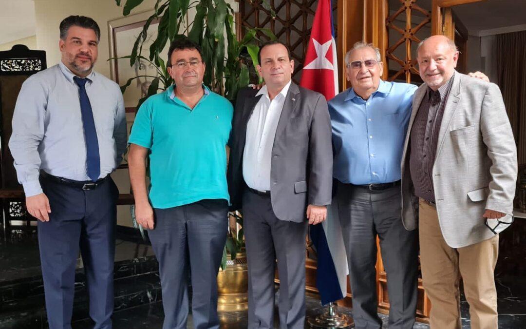 Reunión del PCPE con el Presidente del ICAP