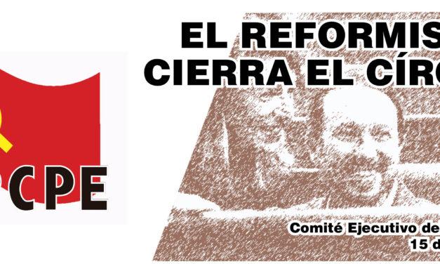 El reformismo cierra el círculo de su proyecto político